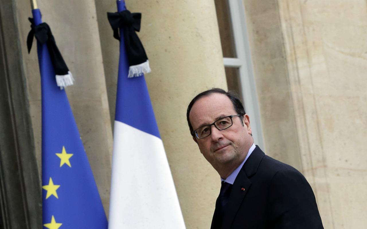 Trump está provocando el desorden mundial: Francois Hollande