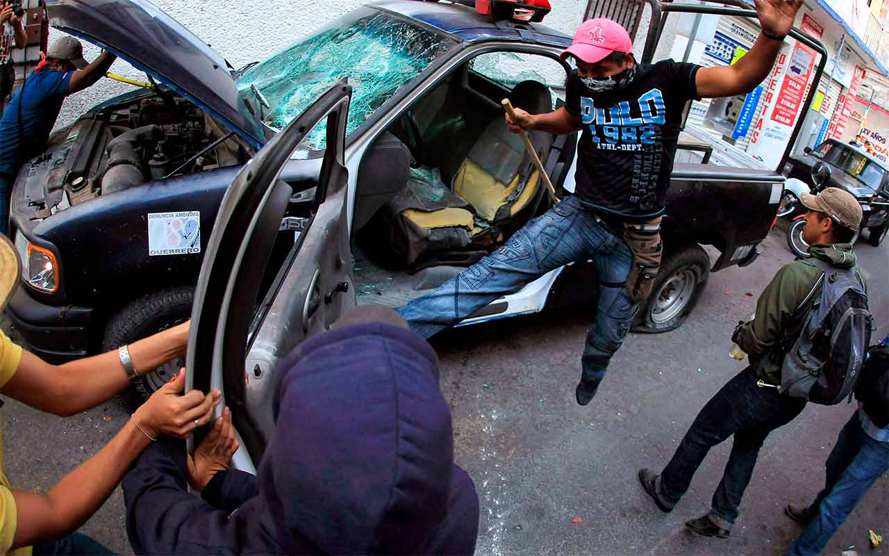 Cada dos minutos se investiga un caso por robo de auto en México