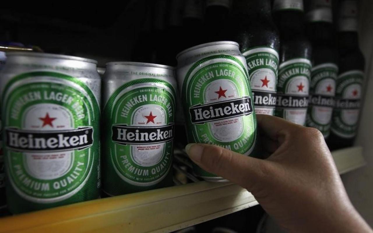 Heineken cerveza