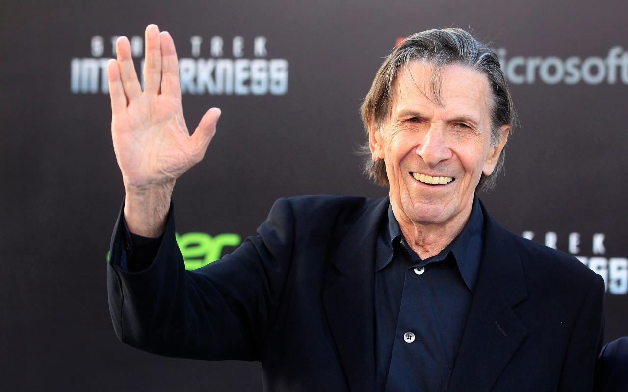 Fallece Leonard Nimoy, el Señor Spock de 'Star Trek'