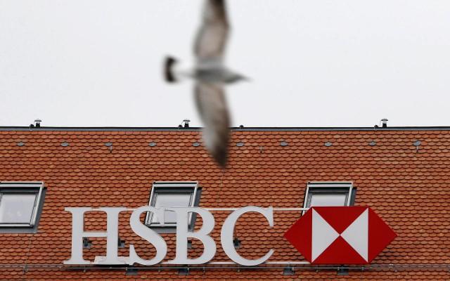 Logo de HSBC en el edificio de una de sus filiales en Ginebra, Suiza (Foto: Reuters)
