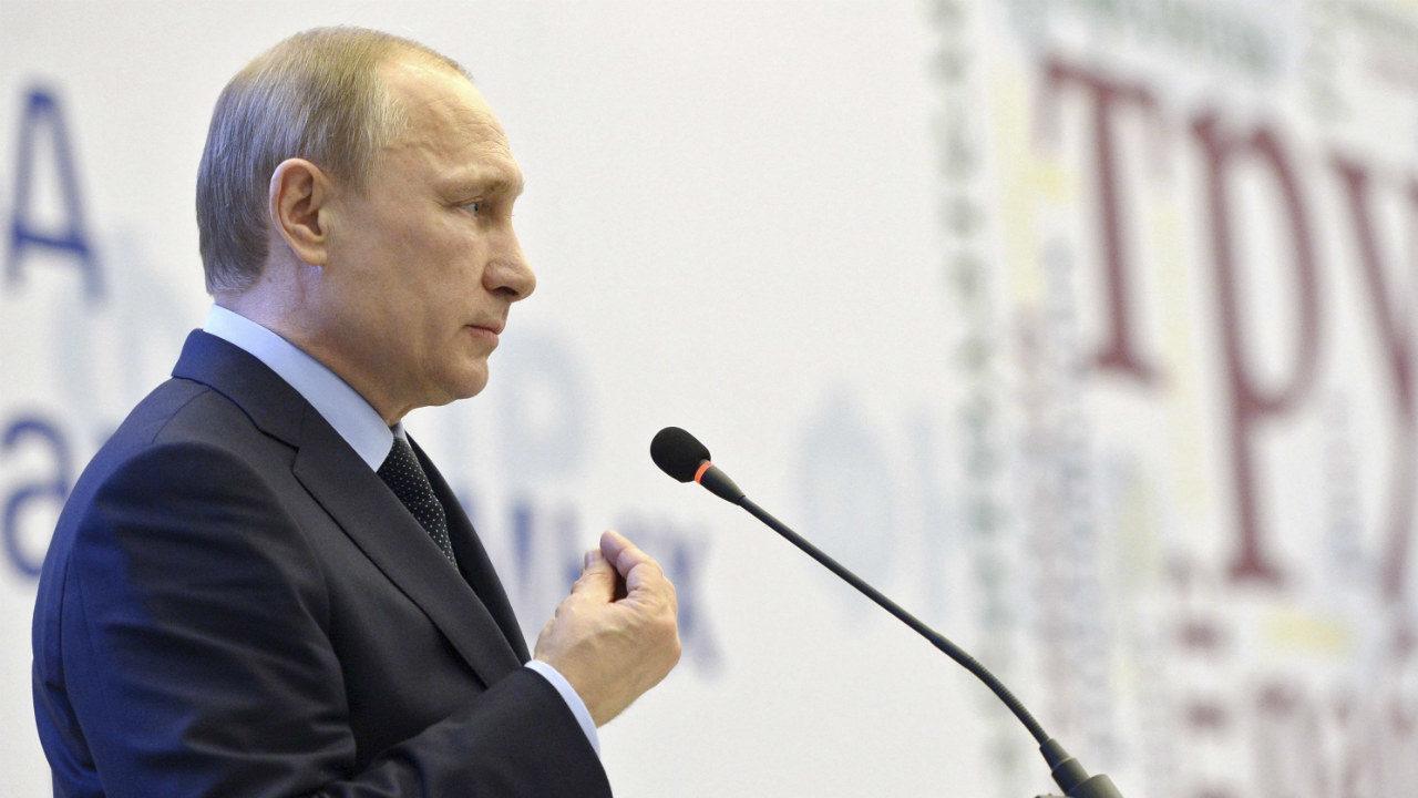 Rusia-Vladirmir Putin
