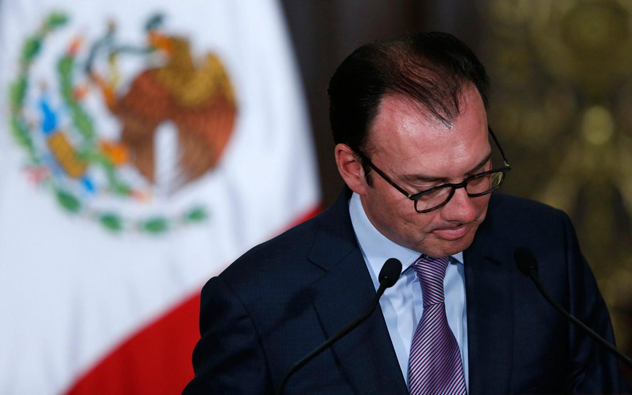 Videgaray expone rechazo para aranceles al secretario de Estado de EU