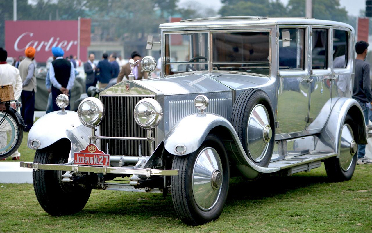 Concours d'Elegance, la exposición de automóviles clásicos de Cartier