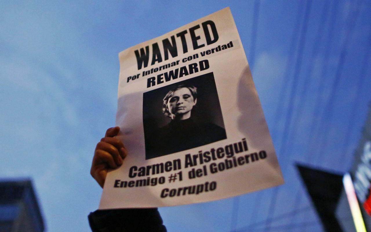 Gobierno espera solución entre Aristegui y MVS