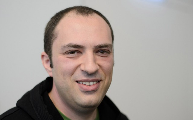 Jan Koum, cofundador de WhatsApp.