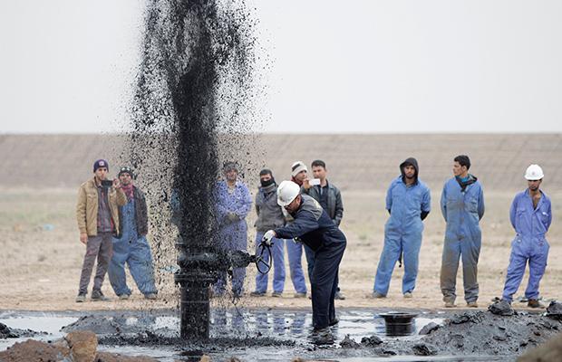 Comienza la 'batalla' por las tierras del petróleo