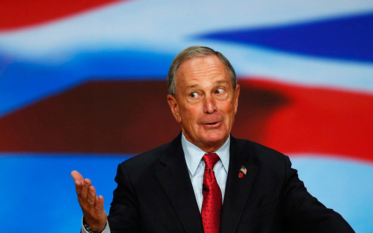 Bloomberg y su carrera presidencial generó ansiedad en 2,700 periodistas
