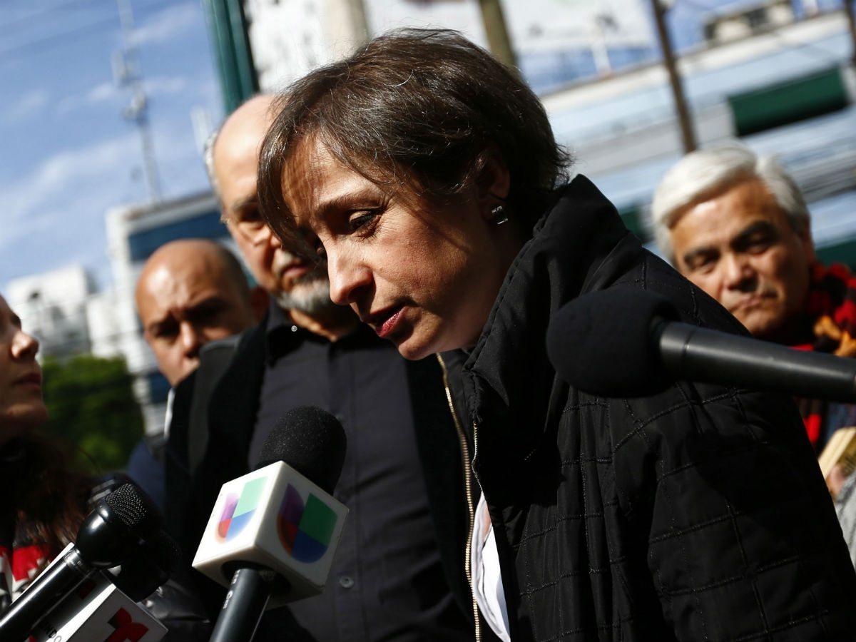 Aristegui consigue amparo contra despido de MVS