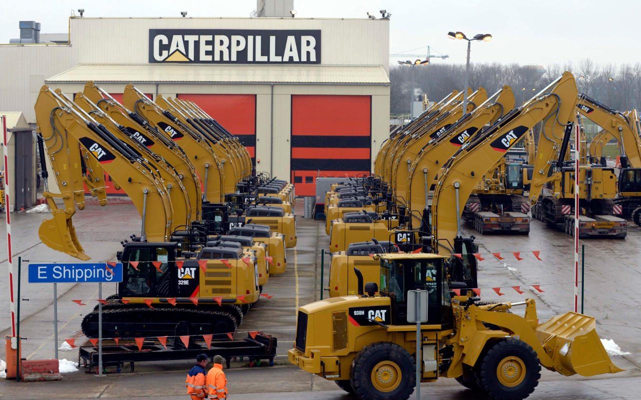 Caterpillar y 3M llevan al Dow Jones a su máximo histórico