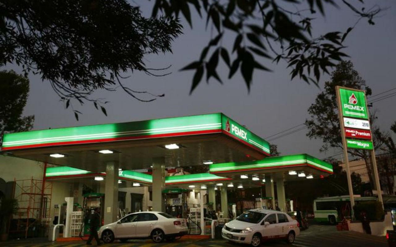 Pemex niega desabasto de gasolina en la Ciudad de México