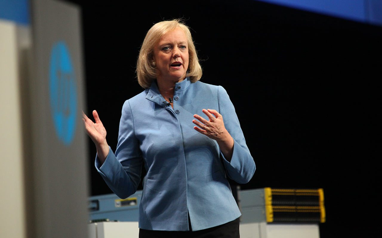 Meg Whitman, CEO de HP Enterprise, dejará su cargo en febrero