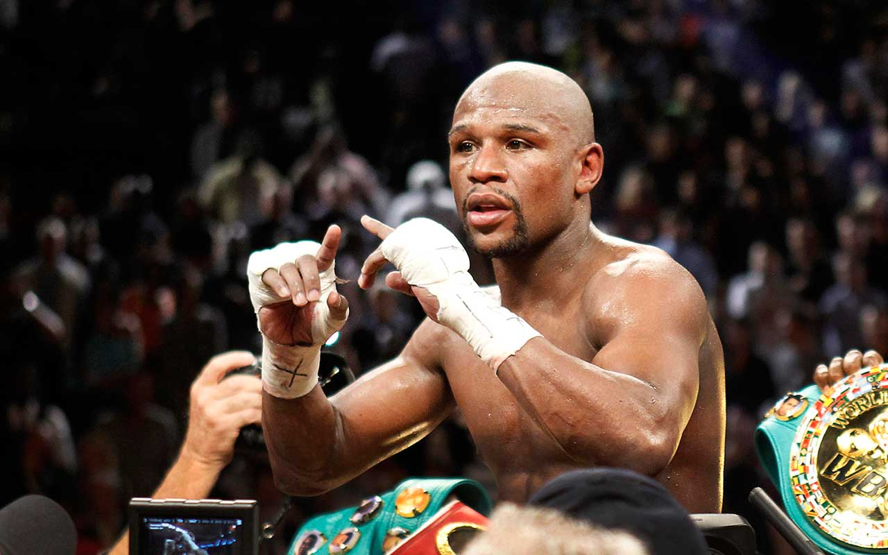 Floyd Mayweather y Conor McGregor pactan 'The Money Fight'