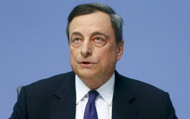 El presidente del BCE, Mario Draghi, en conferencia de prensa (Foto: Reuters).