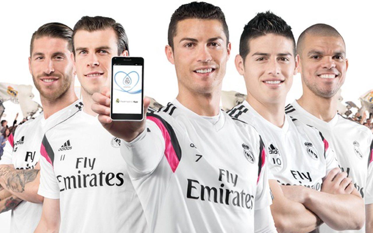 Real Madrid lanza aplicación desarrollada por Microsoft
