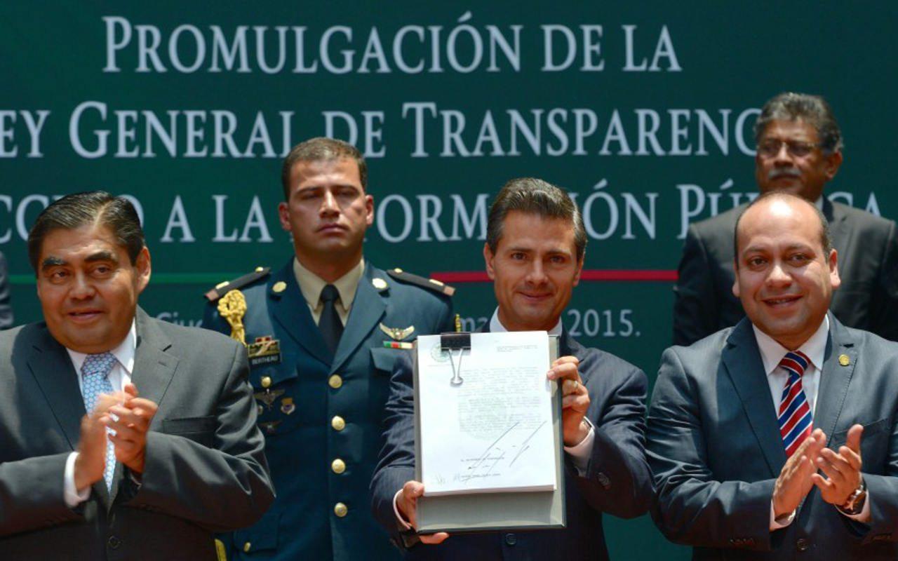 Peña Nieto promulga Ley de Transparencia
