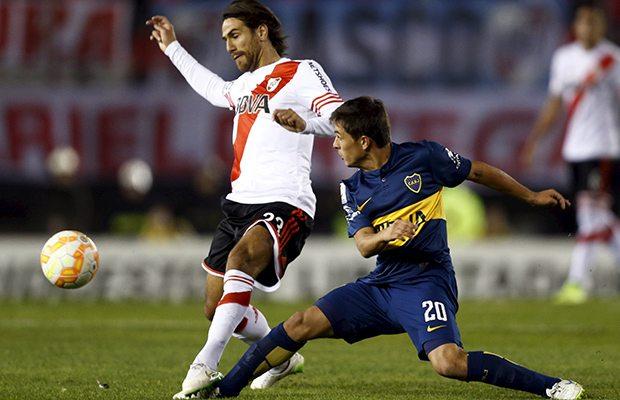 Boca y River empatan 2-2 en final de ida de Copa Libertadores