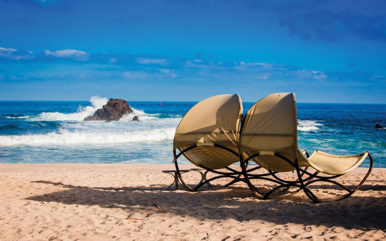 Four Seasons Punta Mita: un green en una isla