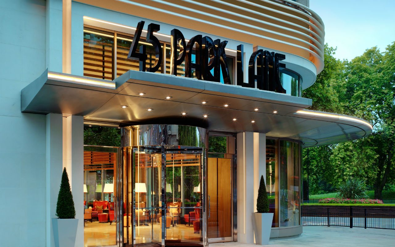 Hotel 45 Park Lane, flema británica