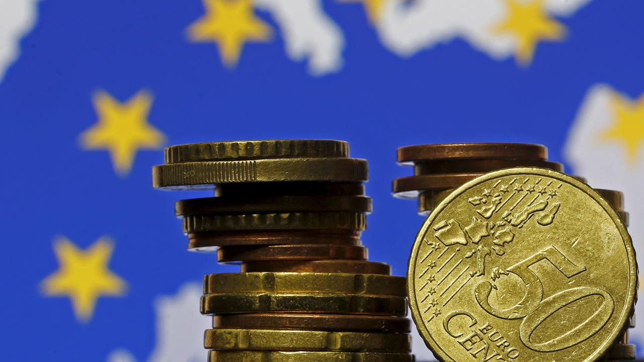 El euro sube a su nivel más alto en casi una semana