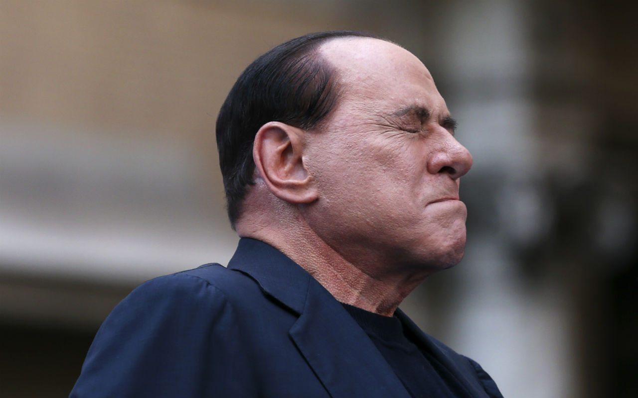 Silvio Berlusconi, hospitalizado por problemas de corazón