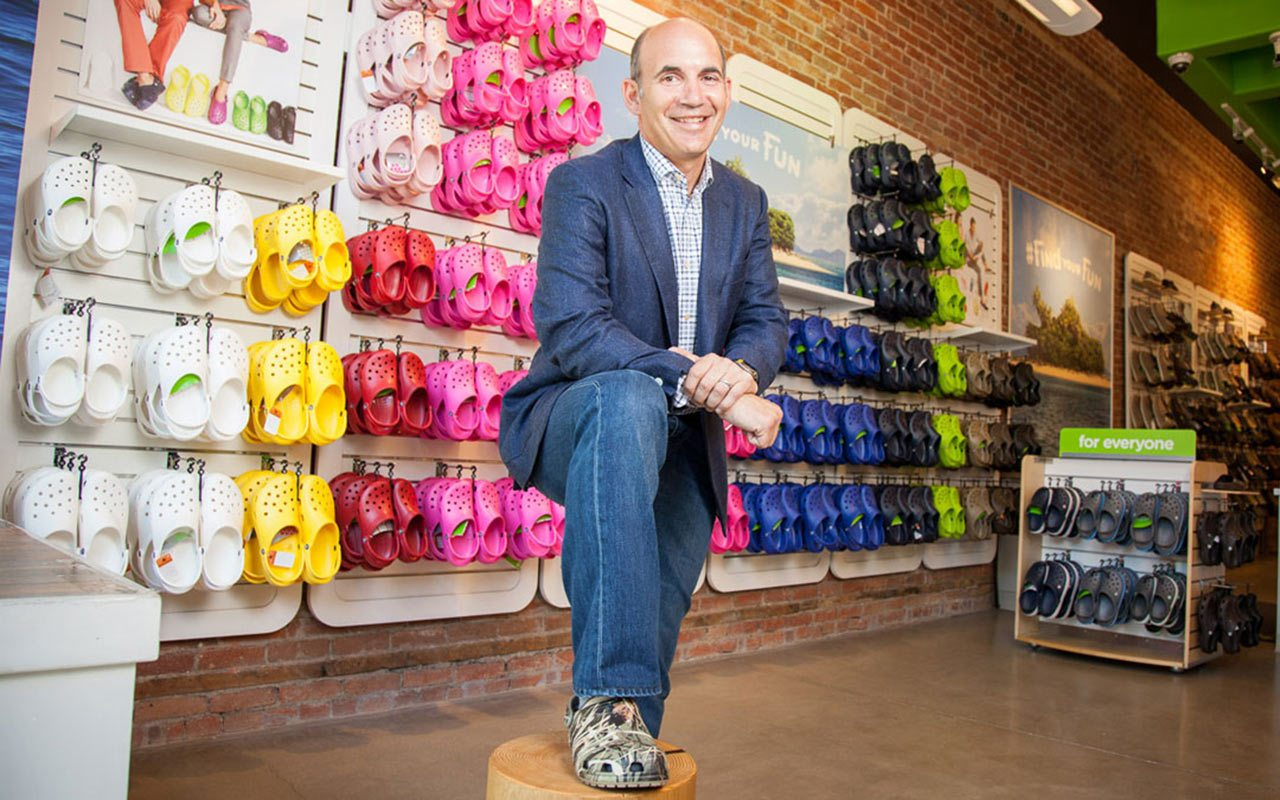 Un nuevo CEO, la esperanza de salvación de Crocs