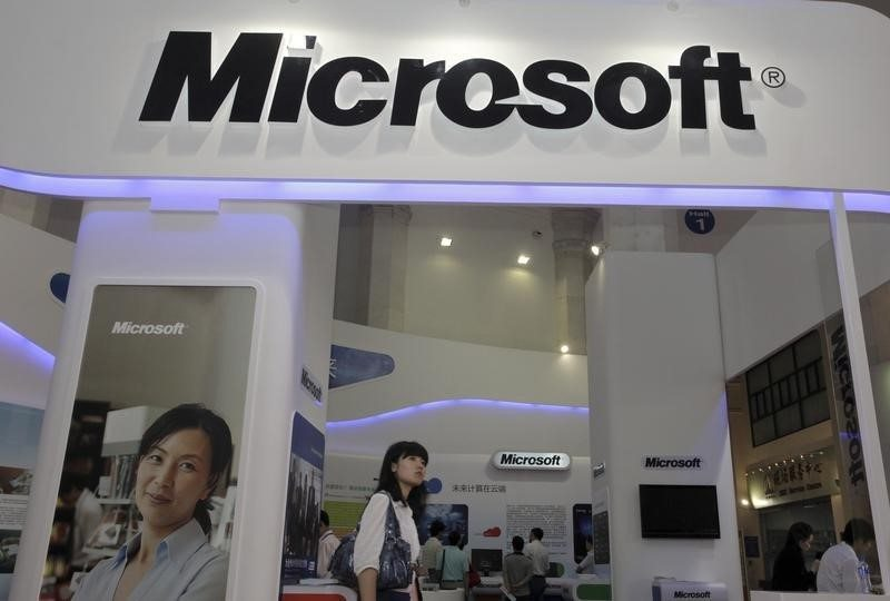 Resultados de Microsoft reciben impulso de ventas de Windows