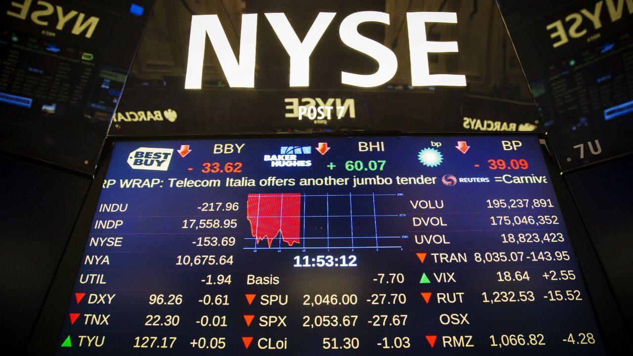Dow Jones alcanza récord en la apertura de Wall Street