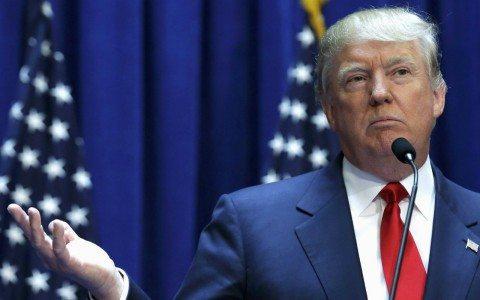 Imagen de Donald Trump en su postulación para la candidatura de la presidencia de EU (Reuters).