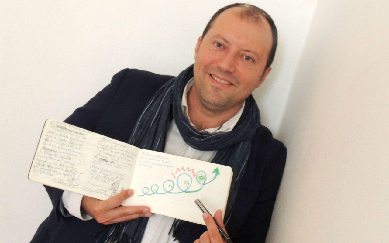 Martín Solares enseña a dibujar novelas… y por partida doble