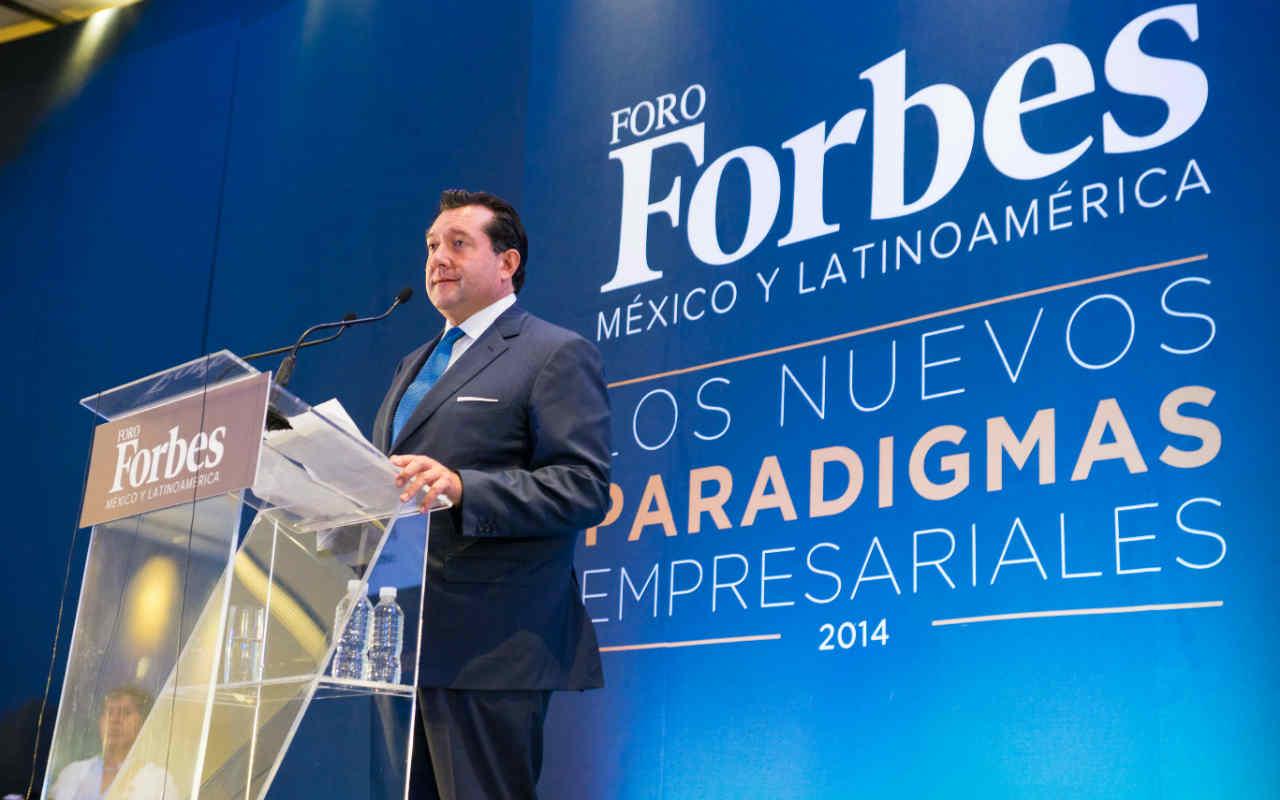 Mariano Menéndez presidirá el Foro Forbes 2015