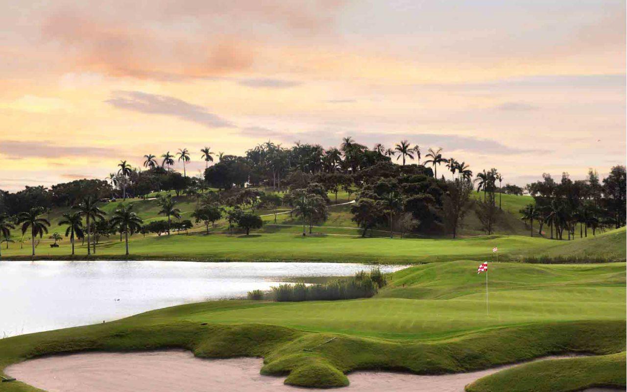 Cuando el diseño de golf se expresa como arte