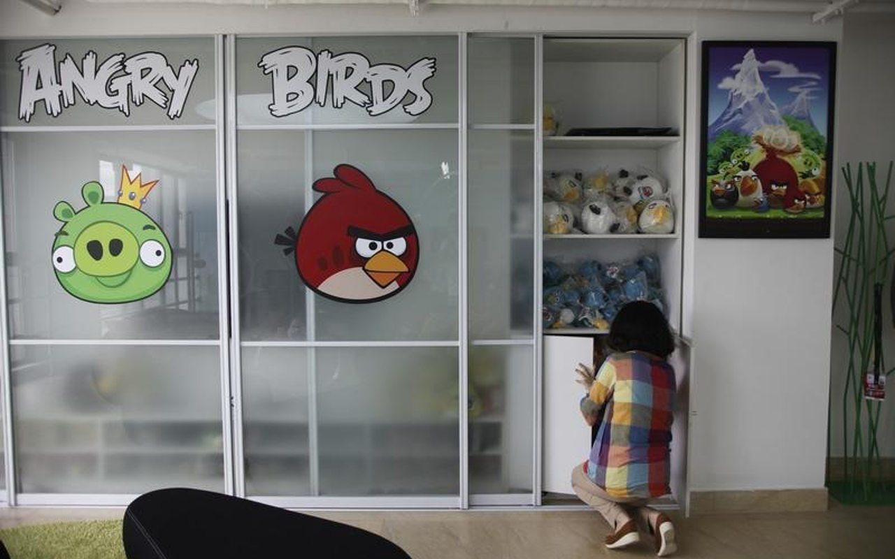 Creador de Angry Birds valuado en 1,000 millones de dólares