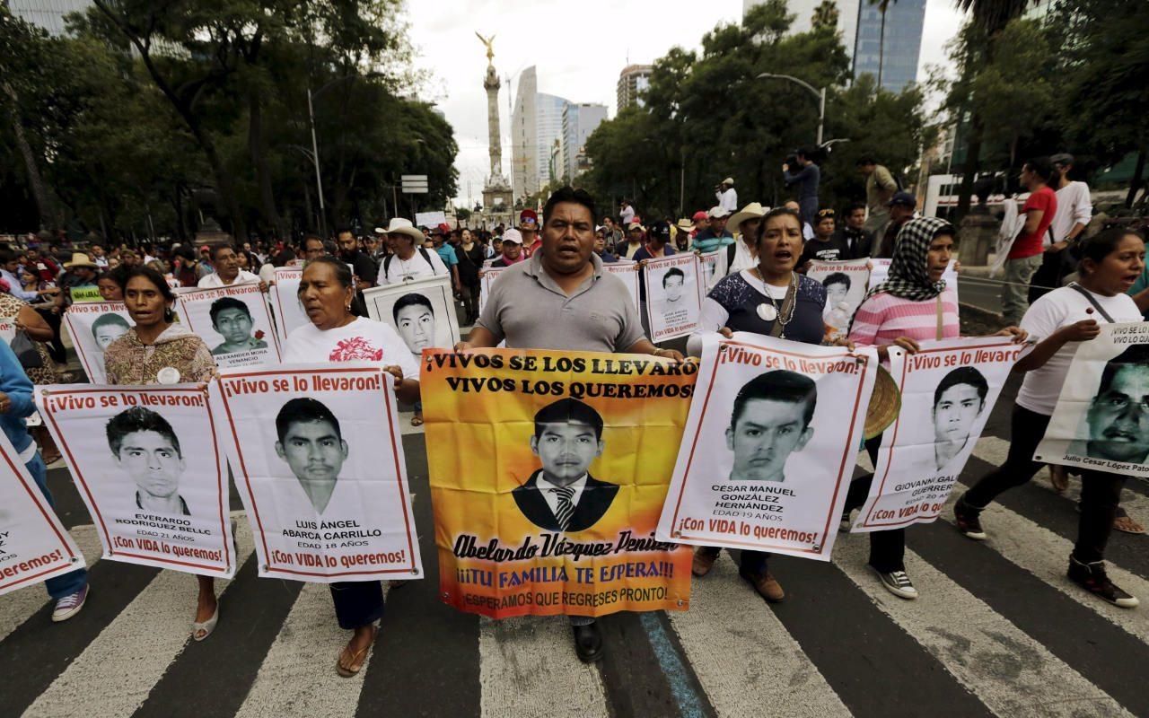 Reinstalan a expertos del GIEI en investigación del caso Ayotzinapa