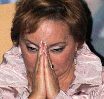 Descongelan las cuentas bancarias de Elba Esther Gordillo