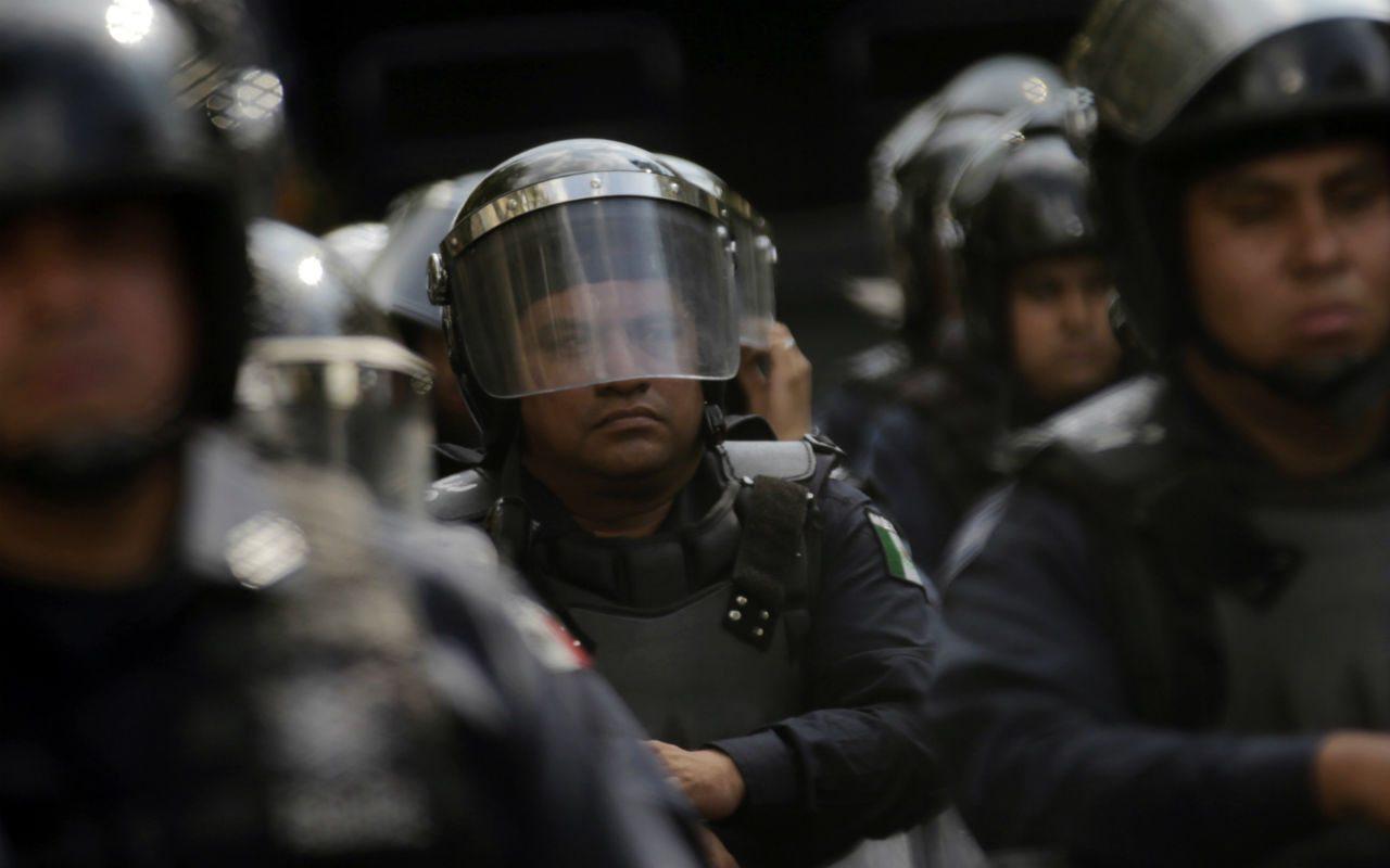 El origen de la frecuente y ubicua represión policial en México