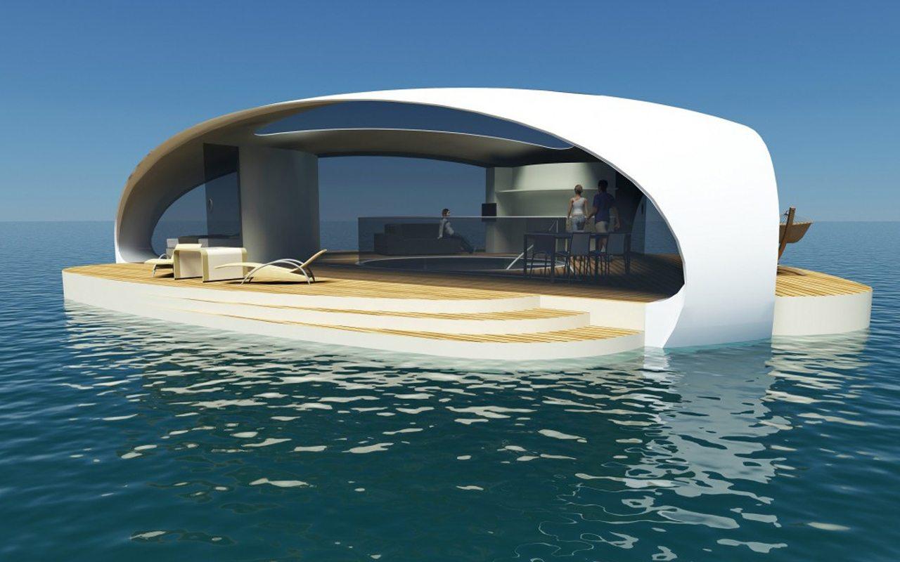 SeaScape: La villa de lujo flotante que te permitirá cumplir tu sueño submarino