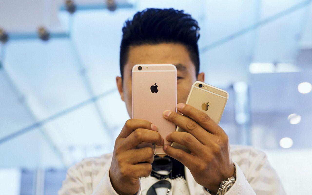 Ventas de iPhone podrían caer por primera vez en su historia