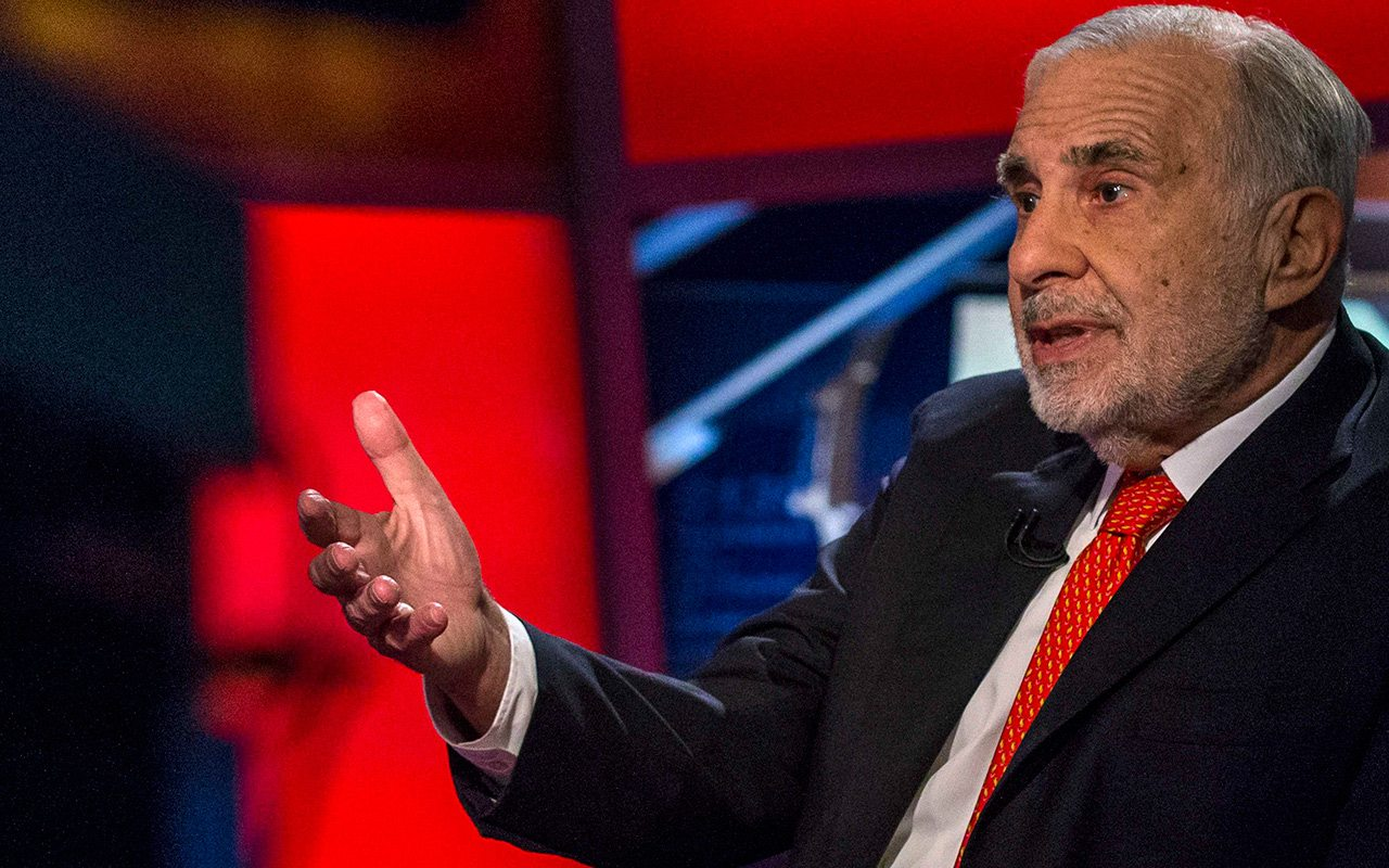 Carl Icahn cambia a Apple por Allergan