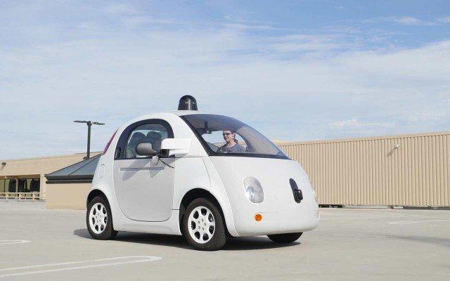 El coche autónomo de Google. (Foto: Taylor Soppe/Forbes.)