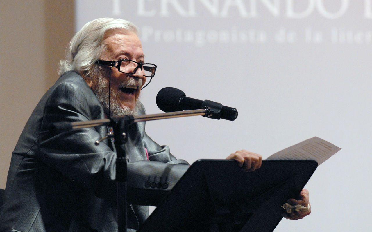 Fernando del Paso: un autor total, profundo, denso y con humor