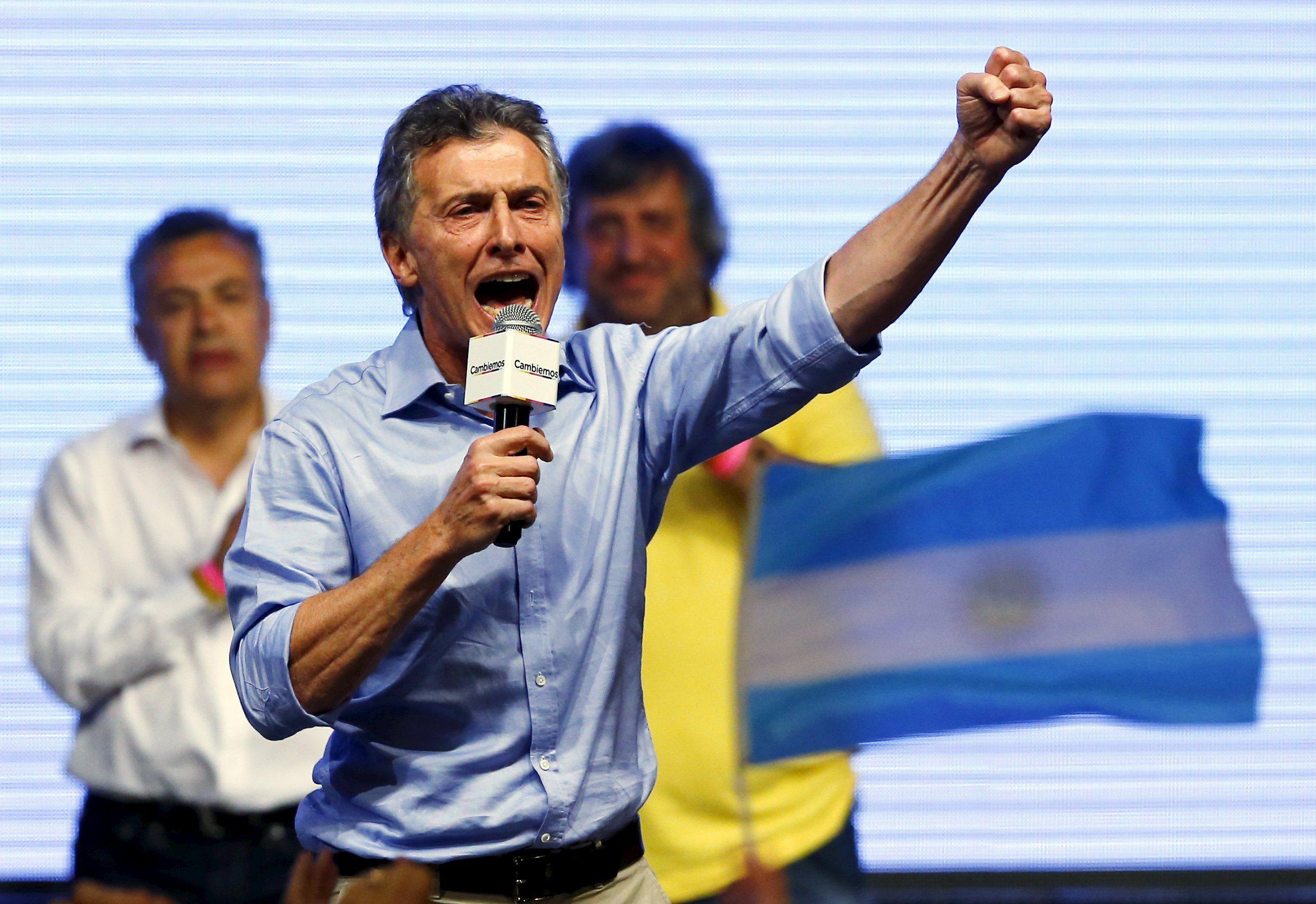 Mauricio Macri toma posesión como nuevo presidente de Argentina