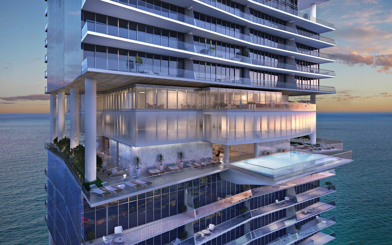 Los penthouses que exaltan el lujo de Miami