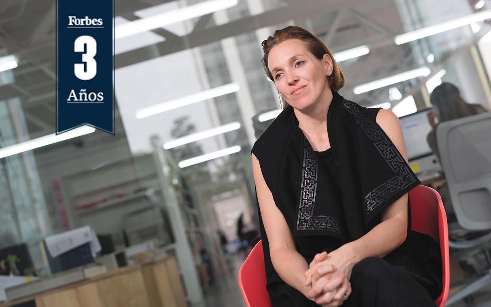 Información seria y confiable, eso es Forbes: Tatiana Bilbao