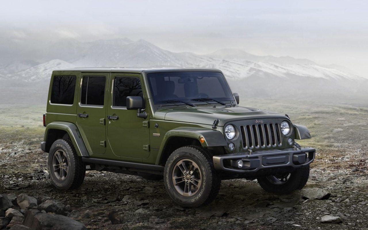 Jeep celebra 75 años de vida con ediciones especiales