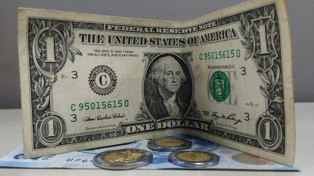 Peso a dolar