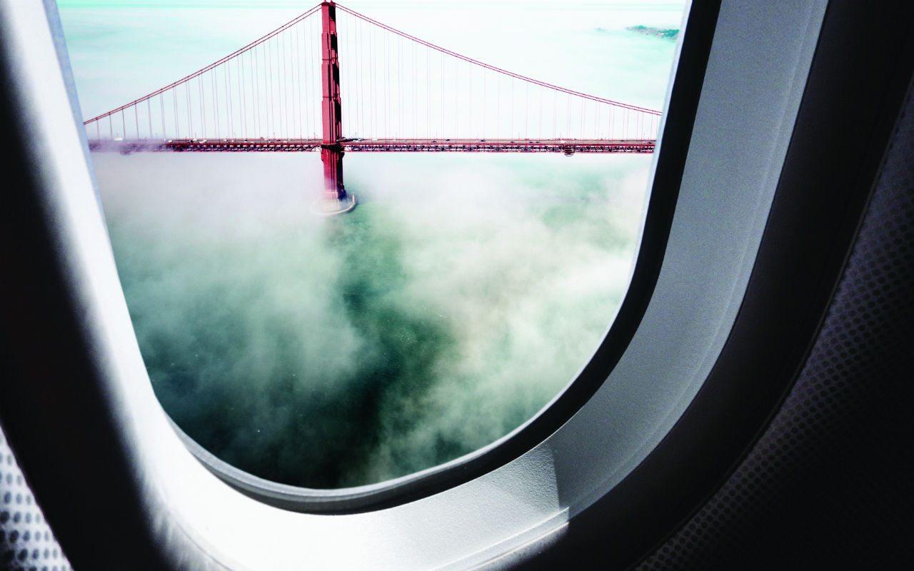 A vista de pájaro, los más recientes jets privados