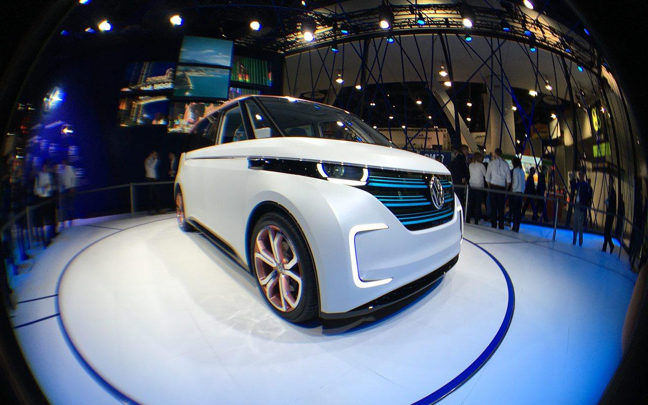 Ésta es la nueva minivan eléctrica de VW