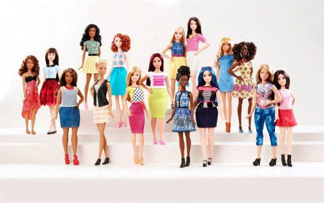 Barbies de todos los tamaños y colores. (Foto: Cortesía de Mattel.)