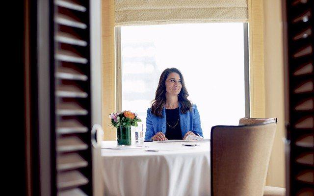 Melinda Gates. (Foto: Michael Princa).